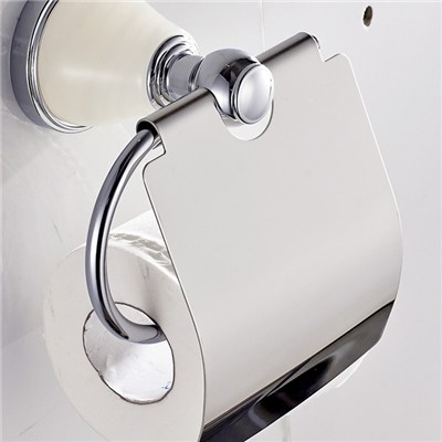 Toilet Paper Holder With Lid
