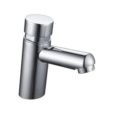 Brass Time Delay Cold Water Basin Taps