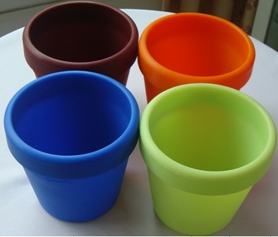 Durable Silicone Rubber Flower Pot