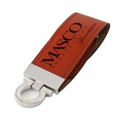 Leather USB With Key Ring