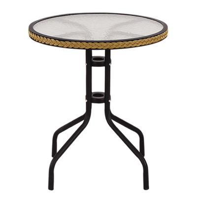 Polyrattan Round Dining Table
