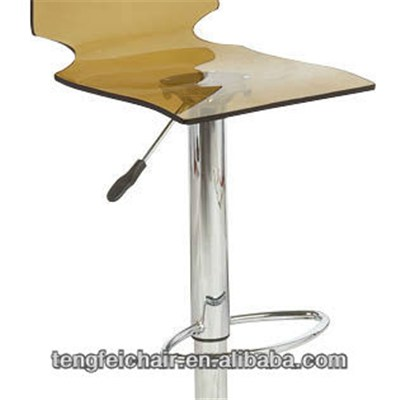 Clear Acrylic Bar Stools