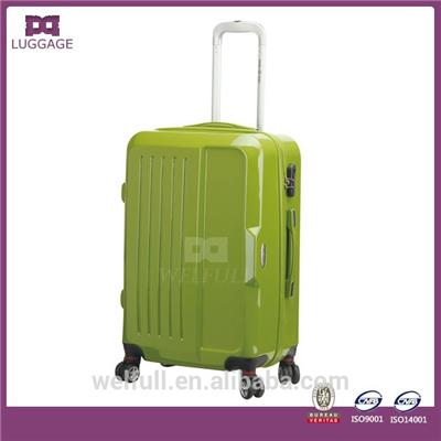 Four Spinner Wheels ABS PC Luggage Set