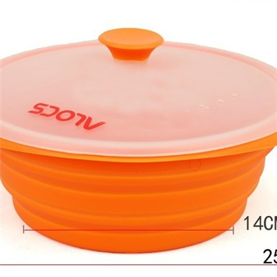 Silicone Foldable Bowl