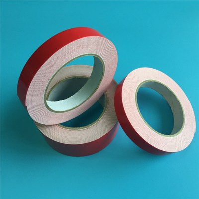 Adhesive Tape For Bonding Of Mirrors Onto Furniture