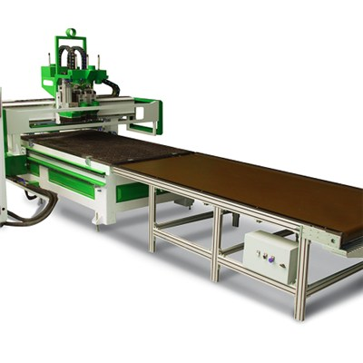 Cutting And Drilling Nesting CNC Router