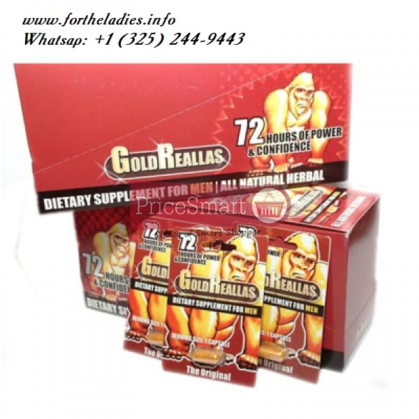 Gold Reallas Sexual Enhancement