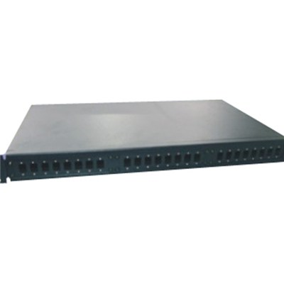 SC Type 24Port 19 Inch 1U Rack Mounted Fiber Optic Patch Panel