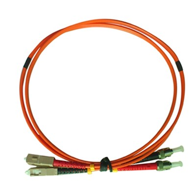Multimode Duplex SC/PC-ST/PC Fiber Optic Patch Cord