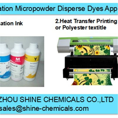 CI.Disperse Fluorescent Yellow Sublimation Dyes