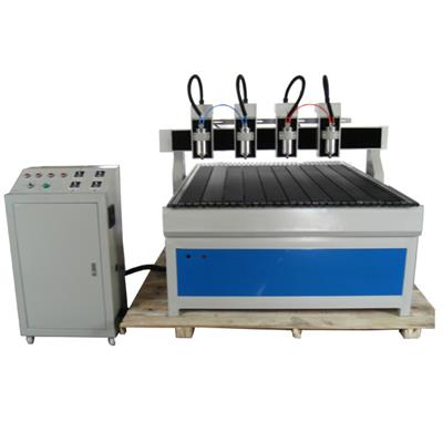 4 Heads CNC Router 1313