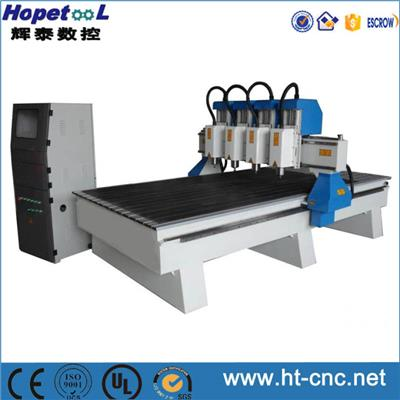 4 Heads CNC Router 1325