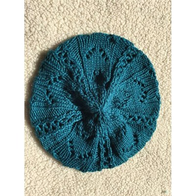 Sparkle Turquoise Women's Fashion Knit Hat