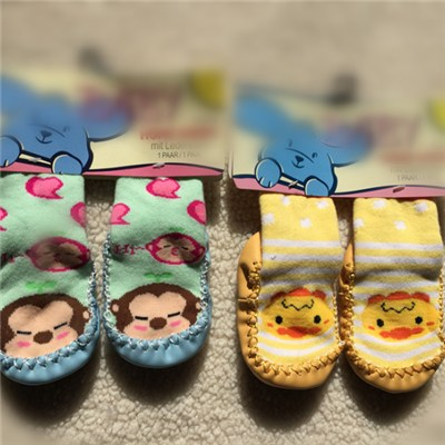 Cartoon Character Baby Socks