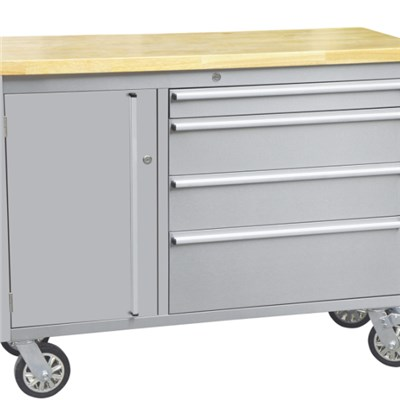 4 Drawer Stainless Steel Tool Cabinet