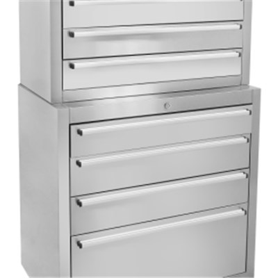 96 Inch Stainless Steel Tool Chest