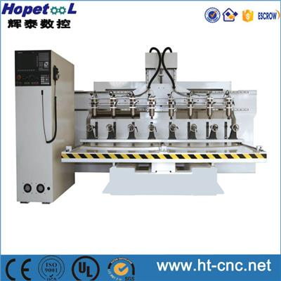 8 Heads Cylinder CNC Router