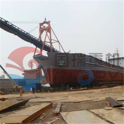 4000Tons Self loading and unloading sand barge