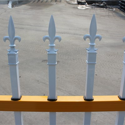 Galvanized Community Fence