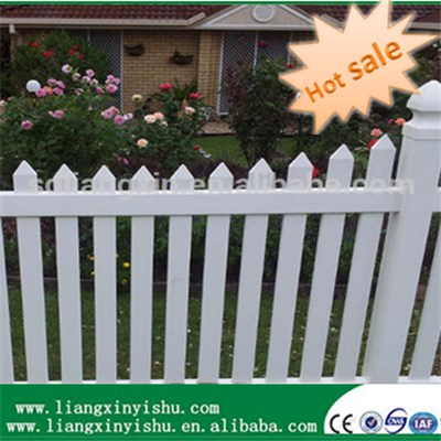 PVC Cutting Picket Fence