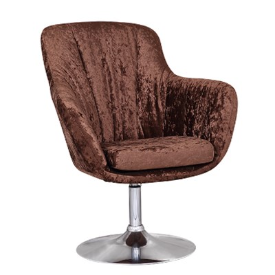 High Back Fabric Bar Stool