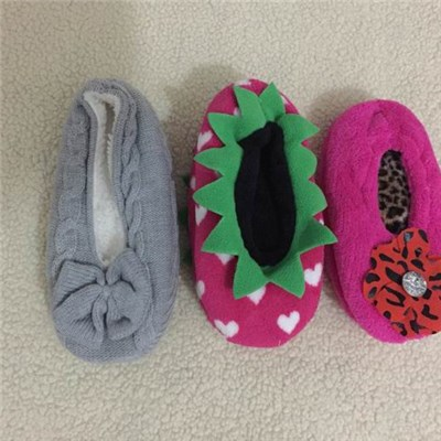 Cute House Slippers With Hand Made Sewing