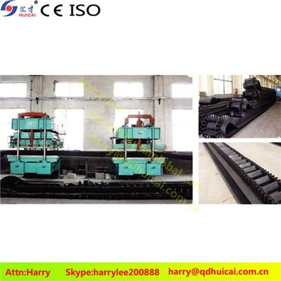 Single Layer Steel Cord Conveyor Belt Vulcanizing Press Machine