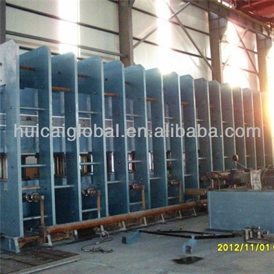 Double Layer Steel Cord Conveyor Belt Vulcanizing Press Machine