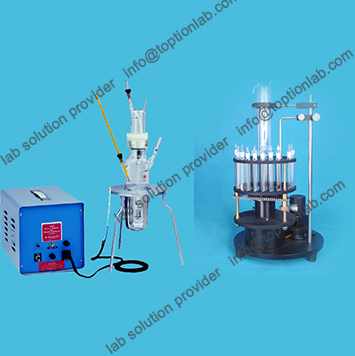 Gas Photochemical Glass Reactor