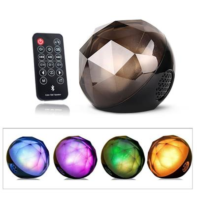 Indoor Diamond Party Bluetooth Speaker With Disco Lights