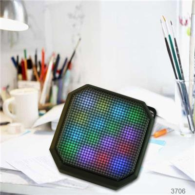 Portable Color Changing LED Light Wireles Speaker For Home And Outdoor