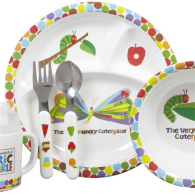 5pcs Melamine Children Dinner Set