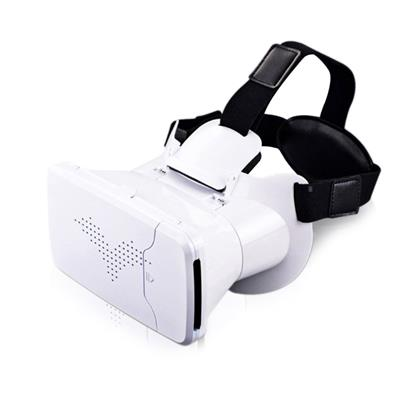 3D Glasses Head Mount 360 Degree VR Virtual Reality +Remote Control