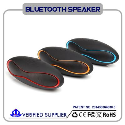 New Mult-function Mini Football Portable Speaker Wireless Bluetooth Speaker Mic Super Bass FM Support USB TF Card For IPhone/HTC