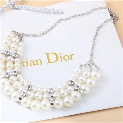 2015 Popular Korean Pearl Necklace Ms Fashion Necklace Chain Belt Of Clavicle Necklace Sell Like Hot Cakes,Welcome To Sample Custom