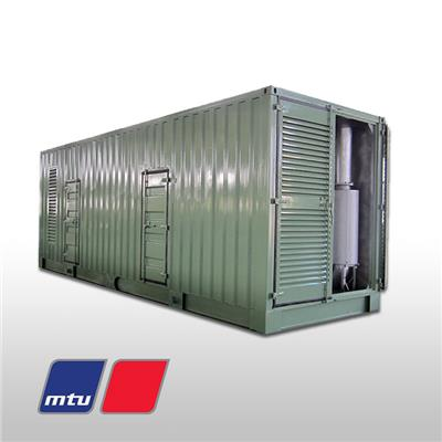 Containerized Prime Mtu Diesel Gensets