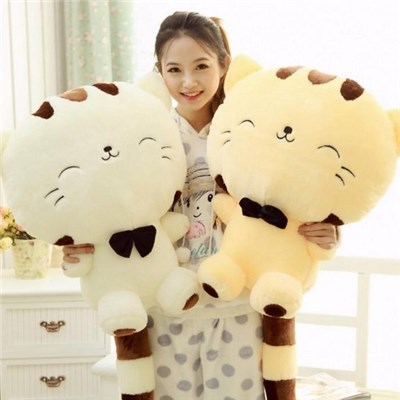2015 Cute Plush Cartoon Cat, Cute Cartoon Cat Foreign Trade Big Cat Doll, Big Face Cat Plush Toys,Welcome To Sample Custom