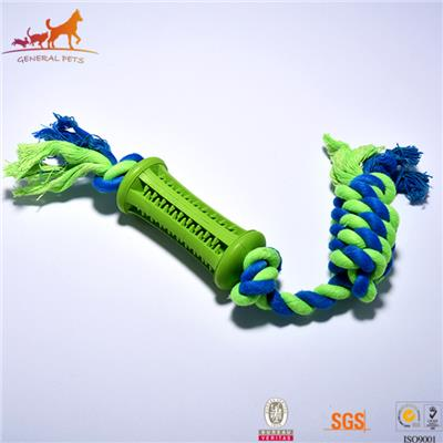 Durable Dental Rope Dog Toy Blue