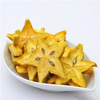 Freeze Dried Star Fruit