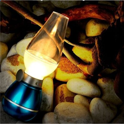 Lileng-220 Modern LED Kerosene Lamp Blow Out Led Lamp
