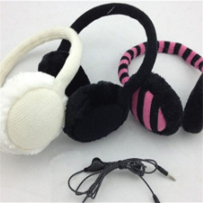 Fashion Warm Plush Toys Headphone(WH-009)