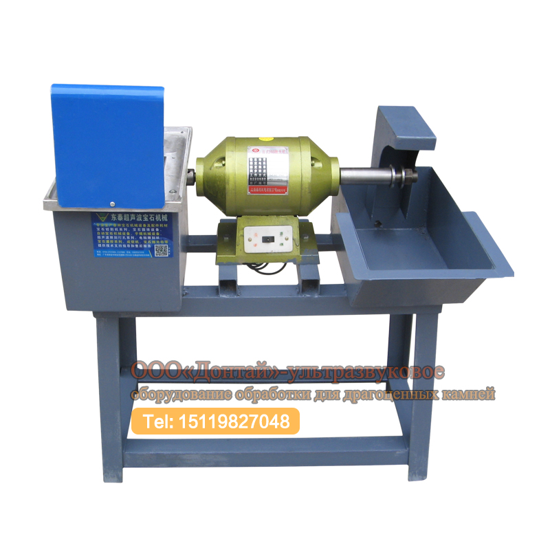 Gem slicing and grinding machine