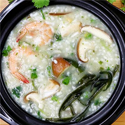 Shrimp And Scallop Congee
