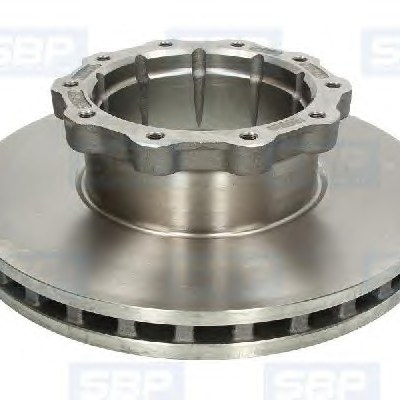 Commercial Brake Disc 81508030009 For MAN