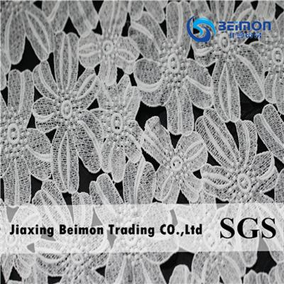 100% Polyester Embroidery Lace LS8130A120