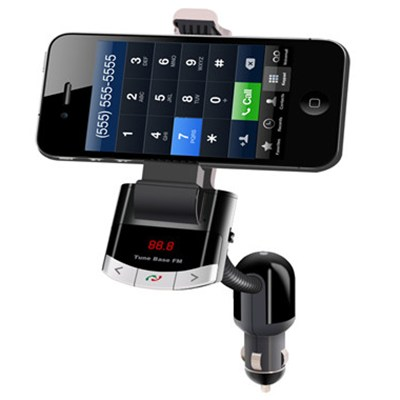 Factory Selling Car Holder With FM And Bluetooth And Speaker For Smart Phone( BT8118 )