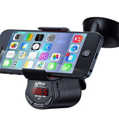 Car Mount Holder Charger Fm Transmitter Handsfree For IPhone 4 4S 5 5S & 5C( FM09)