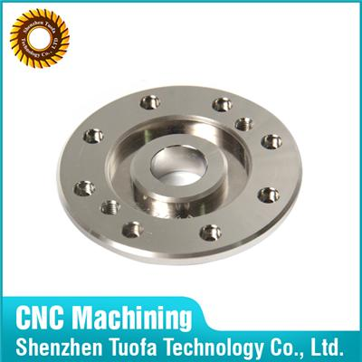 CNC Machining Steel A3/45# Turning Flange In Shenzhen