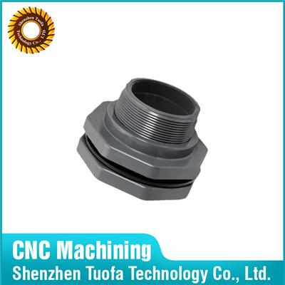 OEM Turning Precision Machining Plastic Pipe Flange