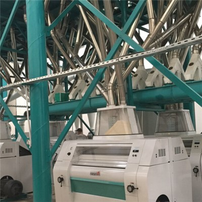 Zambia Maize Mill Equipment 120T Per D